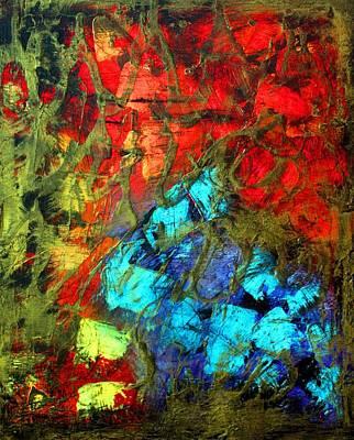 Blue Mixed Media - Borgata by Laura Barbosa