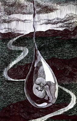 Born Print by Kd Neeley