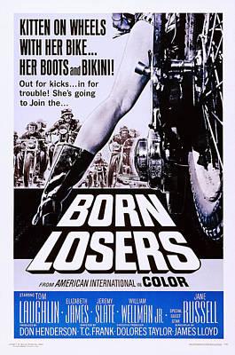 Born Losers, Aka The Born Losers, Us Print by Everett