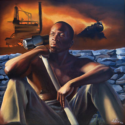 Born With A Hammer Original by Jerome White
