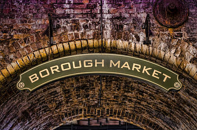 Old Photograph - Borough Archway by Heather Applegate