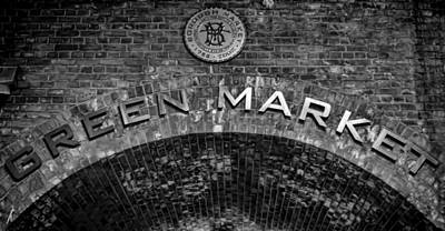 London Photograph - Borough Market Archway by Heather Applegate