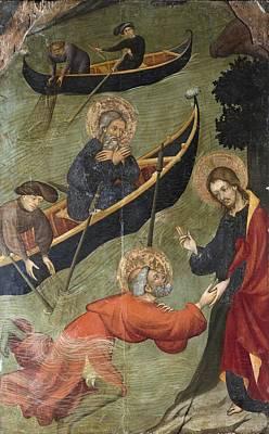 Hagiography Photograph - Borrassa, Llu�s 1360-1425. Altarpiece by Everett