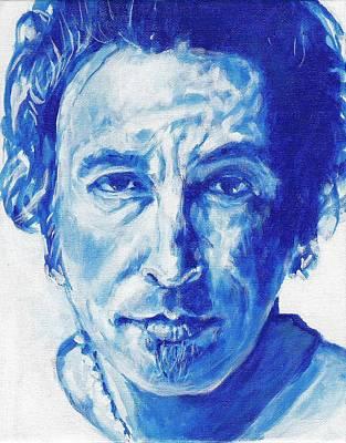 Boss In Blue Print by Paul Smutylo