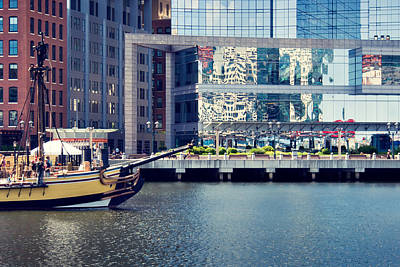 Boston Photograph - Boston - Fort Point Channel by Alexander Voss