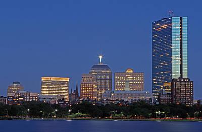 Boston Photograph - Boston Berkeley Building by Juergen Roth