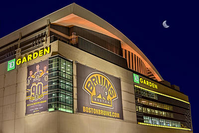 Sports Photograph - Boston Bruins Td Gardens by Susan Candelario