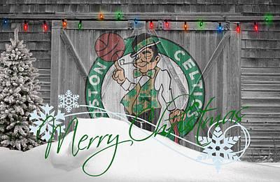 Boston Celtics Print by Joe Hamilton