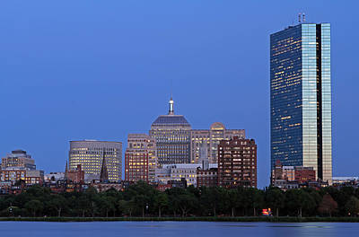 Boston Charles River Skyline Print by Juergen Roth
