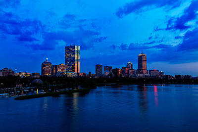 Boston Evening Print by Rick Berk