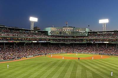 Baseball Photograph - Boston Fenway Park And Red Sox Nation by Juergen Roth