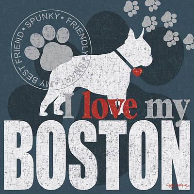 Boston Print by Kathy Middlebrook