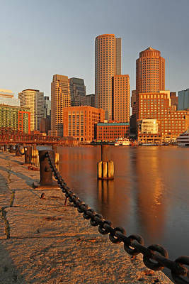 Boston One International Place  Print by Juergen Roth