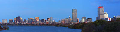 Color Photograph - Boston Panorama by Juergen Roth