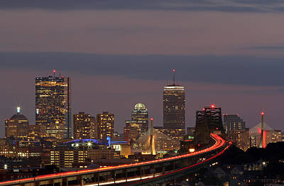 Boston Rediscovered Print by Juergen Roth
