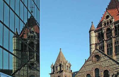 Boston Unity Reflected 2853 Original by Guy Whiteley