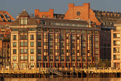 Architecture Photograph - Boston Wharf Luxury Apartments by Juergen Roth