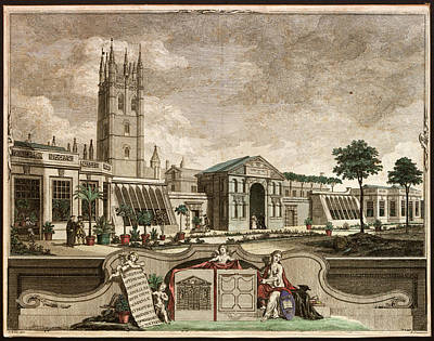 Botanic Garden Print by Museum Of The History Of Science/oxford University Images