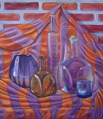 Botellas Original by Arturo Ortiz