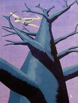 Airliners Painting - Botswana Aviation - 1936 by Jonathan Laverick