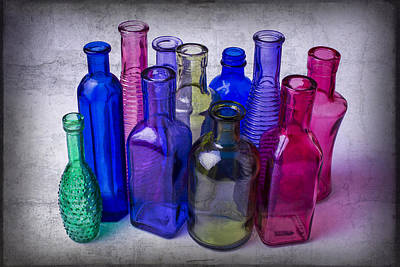 Bottle Collection Print by Garry Gay