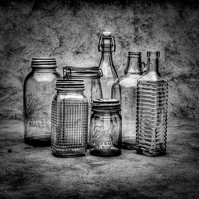 Bottles Print by Timothy Bischoff