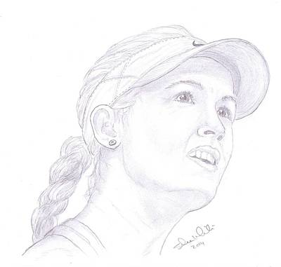 Steven White Drawing - Bouchard by Steven White