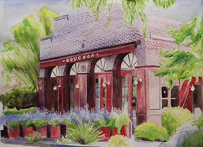 Laundry Painting - Bouchon by Wyn Ericson