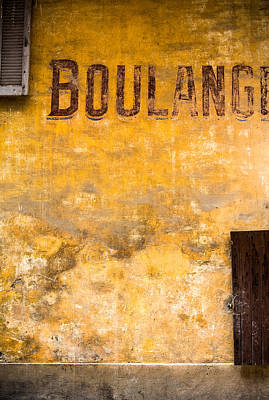 Boulangerie Print by Instants