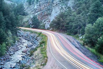 Boulder Canyon Drive And Commute Print by James BO  Insogna
