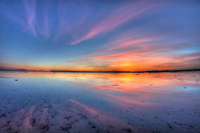 8mm Photograph - Boundary Bay Sunset by Pierre Leclerc Photography