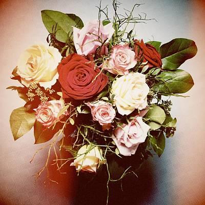Floral Photograph - Bouquet Of Flowers by Matthias Hauser