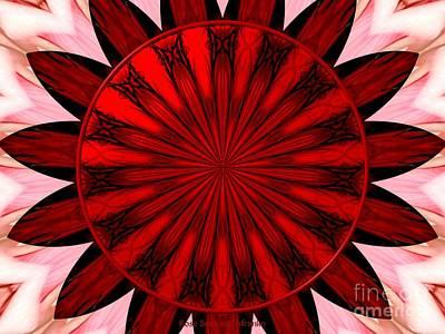 Kaleidoscope Photograph - Bouquet Of Roses Kaleidoscope 3 by Rose Santuci-Sofranko
