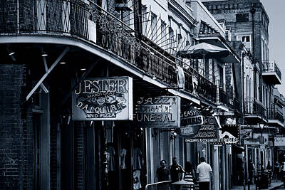 Balcony Photograph - Bourbon Street New Orleans by Christine Till