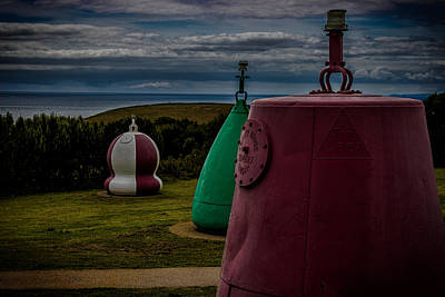 Bouys Photograph - Bouy's Lizard Lighthouse by Martin Newman