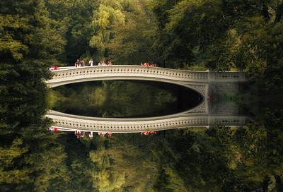Bow Bridge Reflections Print by Jessica Jenney