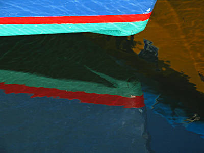 Bow Reflection Print by Juergen Roth