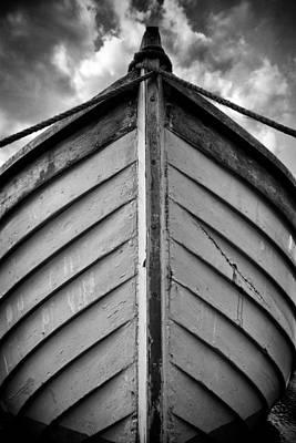 Historic Schooner Photograph - Bow  by Stelios Kleanthous