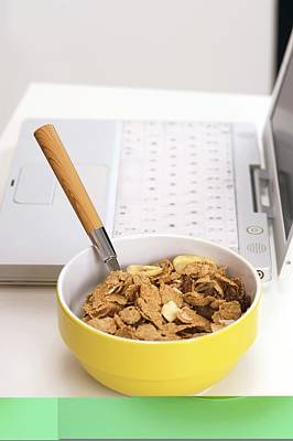 Revised Photograph - Bowl Of Cereal by Science Photo Library