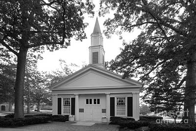 Bowling Green State University Prout Chapel Print by University Icons