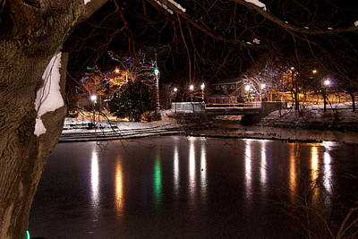 Bowring Park Print by Darrell Young