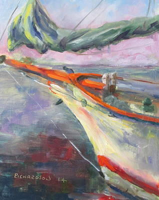 Susan L Richardson Art Painting - Bowsprit by Susan Richardson