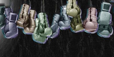 Boxing Gloves Original by Tony Rubino