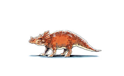 Paleozoology Photograph - Brachyceratops Dinosaur by Deagostini/uig