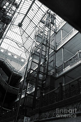 Bradbury Building Print by Gregory Dyer