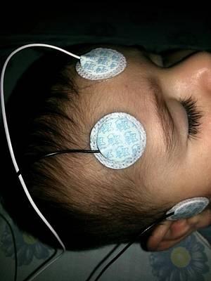 Brainstem Evoked Response Audiometry Print by Photostock-israel