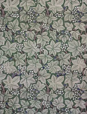 Configuration Tapestry - Textile - Bramble Wallpaper Design by Kate Faulkner