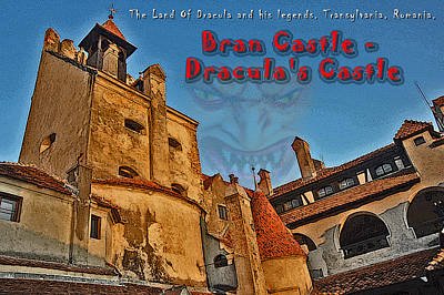 Bran Castle - Dracula's Castle. Original by Andy Za