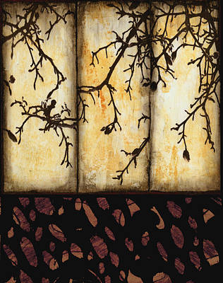 Branching Print by Ann Powell