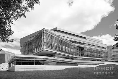 Waltham Photograph - Brandeis University Carl J. Shapiro Science Center by University Icons
